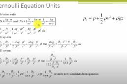 Bernoulli's Equation and Unit Conversion Strategies